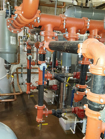 Plumbing For A Fire Safety System - East Hartford CT